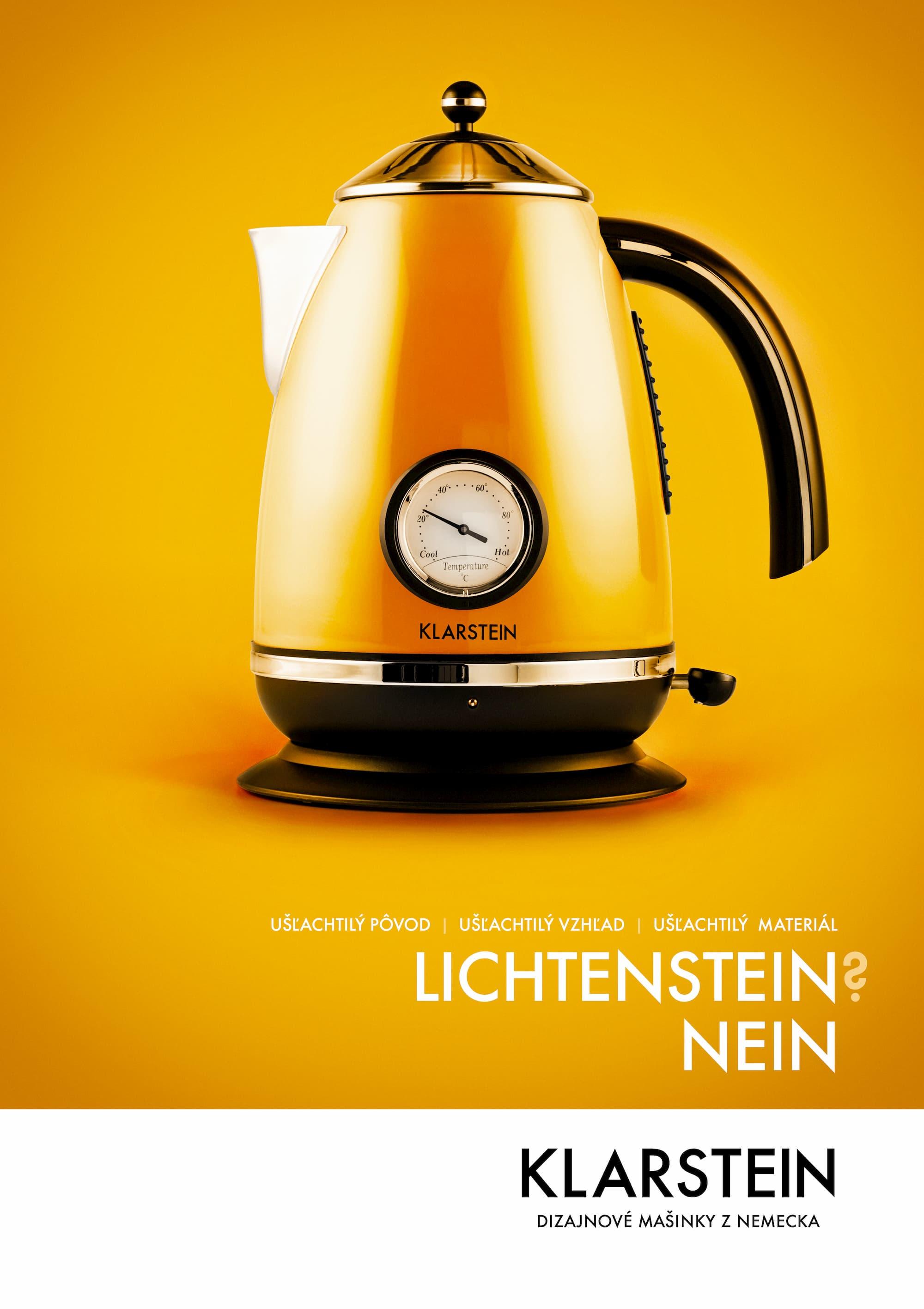 čosi pre klarstein – poster oranžový