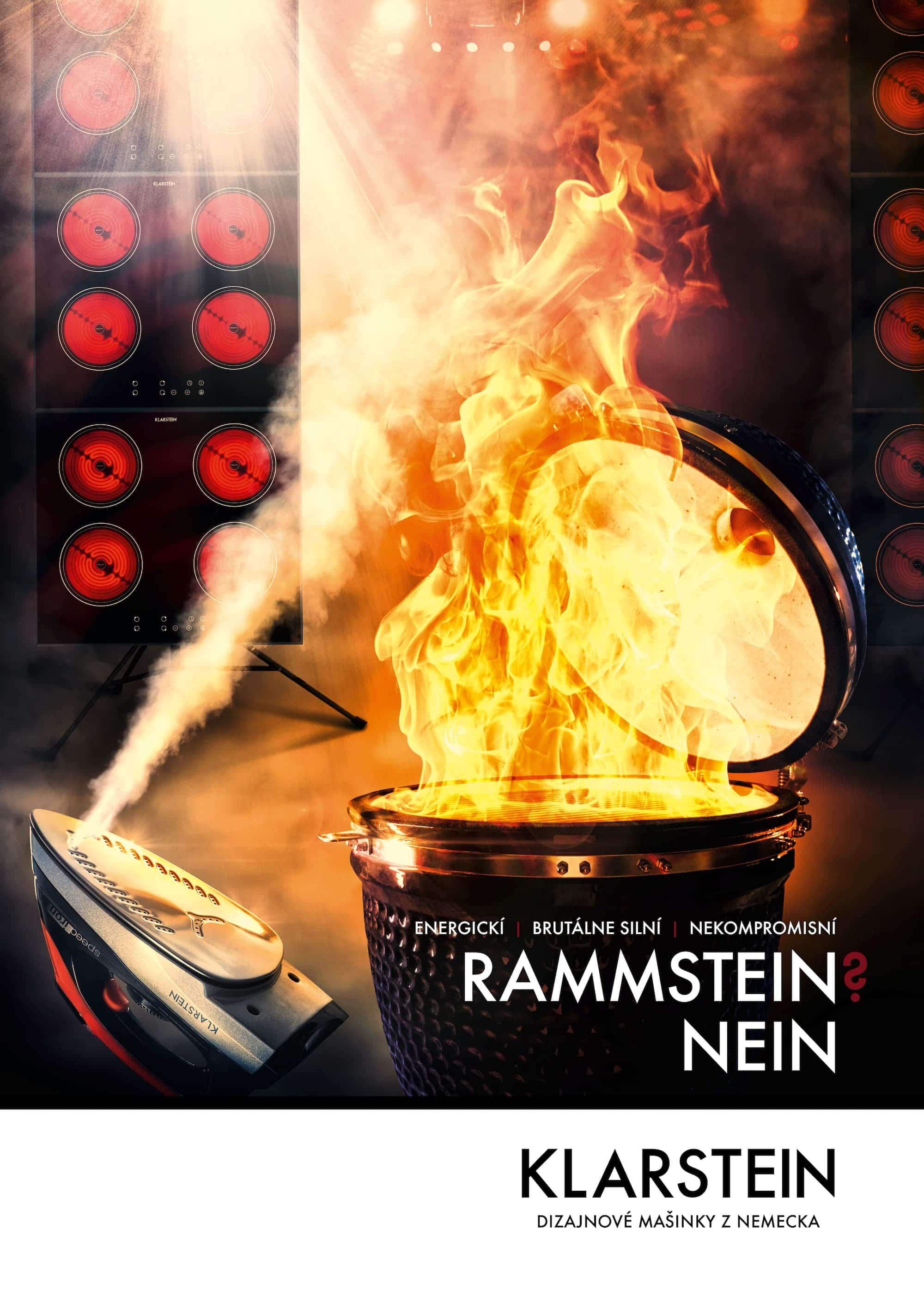 čosi pre klarstein – poster ohnivý